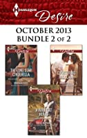 Harlequin Desire October 2013 - Bundle 2 of 2: The Lone Star Cinderella\A Wolff at Heart\Countering His Claim