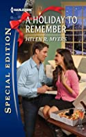 A Holiday to Remember (Harlequin Special Edition)
