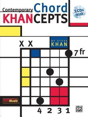 Contemporary Chord Khancepts [With 2 CDs]  by  Steve Kahn