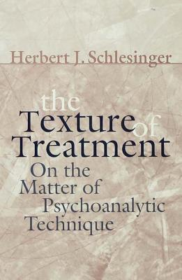The Texture of Treatment: On the Matter of Psychoanalytic Technique Herbert J Schlesinger