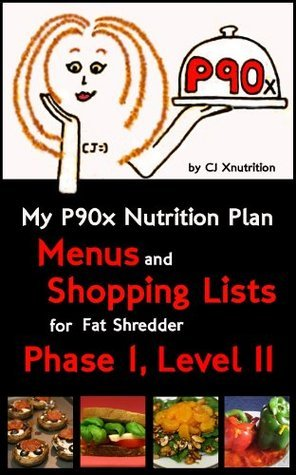 My P90x Nutrition Plan: Menus and Shopping Lists for Fat Shredder, Phase 1, Level II CJ Nutrition