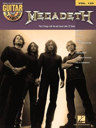 Megadeth: Guitar Play-Along Volume 129 Megadeth