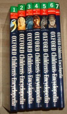 Oxford Childrens Encyclopedia (Full set : volumes 1 through 7) Mary Worrall