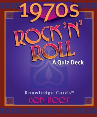 1970s Rock N Roll Knowledge Cards Deck Pomegranate Communications