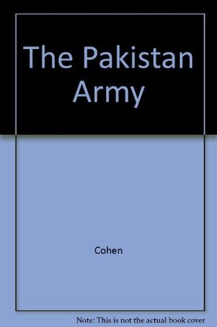 Pakistan Army  by  Stephen Philip Cohen