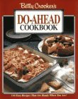 Betty Crockers Do-Ahead Cookbook  by  Betty Crocker
