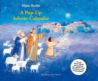 A Pop-Up Advent Calendar with Booklet  by  Maite Roche