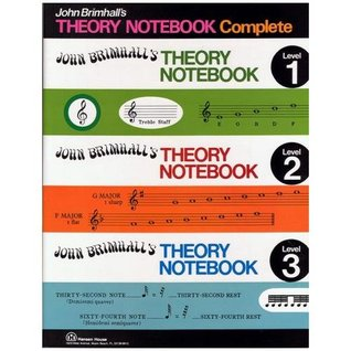 John Brimhalls Complete Theory Notebook  by  John Brimhall