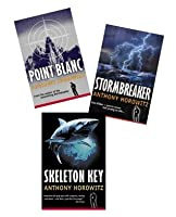 Alex Rider Series (#1-3) : Stormbreaker - Point Blanc - Skeleton Key (Book Sets for Kids: Grade 5 and up)
