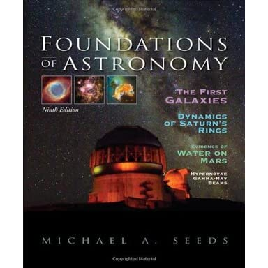 Foundations of Astronomy (with AceAstronomy(TM), Virtual Astronomy Labs Printed Access Card) - Michael A. Seeds, Dana Backman