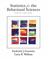 Statistics for the Behavioral Sciences (with InfoTrac)