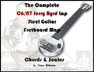 The Complete C6th Lap steel Guitar Fretboard Map (Know Your Fretboard)  by  Stefan Robertson