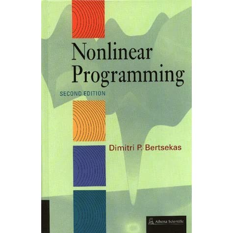 Nonlinear Programming - Dimitri P. Bertsekas