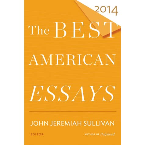 the best american essays 2014 contents