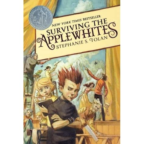 surviving the applewhites by stephanietolan book The applewhites and all accompanying them belong to stephanie tolan dalton,  and other unrecognizable characters and plot belong to me.