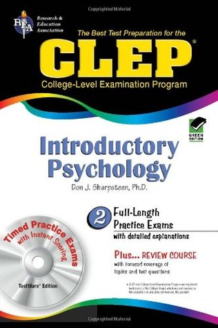 CLEP: Introductory Psychology, TestWare Edition (Book & CD-ROM) Don J. Sharpsteen