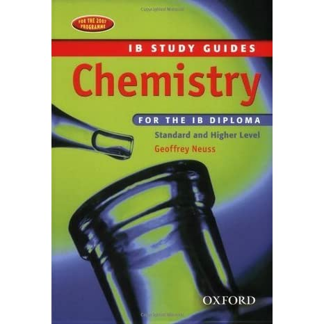 chemistry ib study guide for the ib diploma