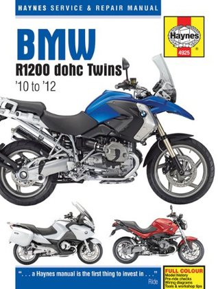 BMW R1200 dohc Twins: 10 to 12 Editors Of Haynes Manuals