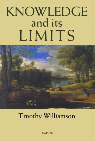 The Philosophy of Philosophy Timothy Williamson