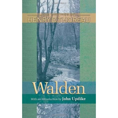 Walden by Henry David Thoreau -- Reviews, Discussion, Bookclubs, Lists