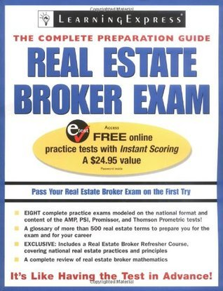 Real Estate Broker Exam  by  LearningExpress Editors