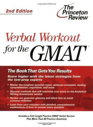 Verbal Workout for the GMAT, 2nd Edition Princeton Review