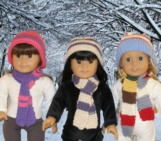 Easy Knitting for Kids Pattern for 18 inch dolls Ase Bence