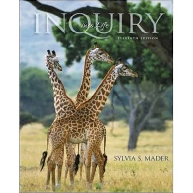 Inquiry Into Life - Sylvia S. Mader