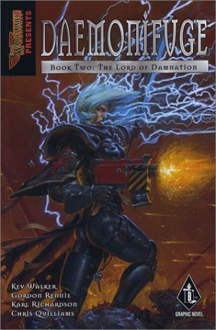 Daemonifuge Book Two: The Lord of Damnation Kev Walker