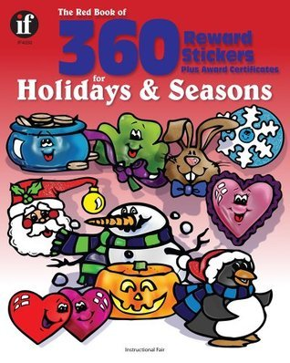 The Red Book of 360 Reward Stickers for Holidays and Seasons, Grades PK - 6 Instructional Fair