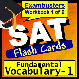 SAT Test Prep Essential Vocabulary Review Flashcards--SAT Study Guide Book 1 SAT Exambusters