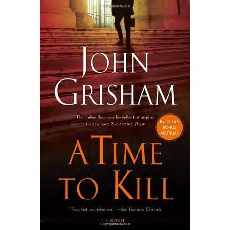 from time to kill by john A time to kill a new courtroom drama adapted for the stage by  the community is torn apart in this gripping adaptation of john grisham's incendiary novel.