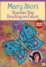 Mary Stori Teaches You Beading on Fabric DVD  by  Mary Stori