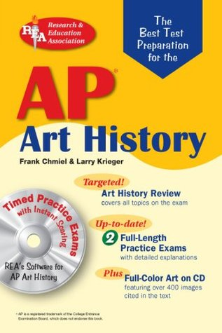 AP Art History w/CD-ROM (REA)-The Best Test Prep for (Advanced Placement  by  Frank Chmiel