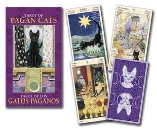 Tarot of Pagan Cats Mini Deck  by  Lo Scarabeo