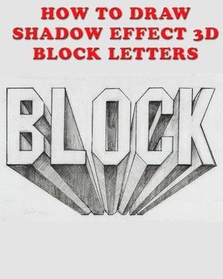 How to Draw Shadow Effect 3D Block Letters Christian Ponder