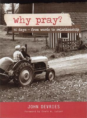 Why Pray?: 40 Days from Words to Relationship  by  John F DeVries