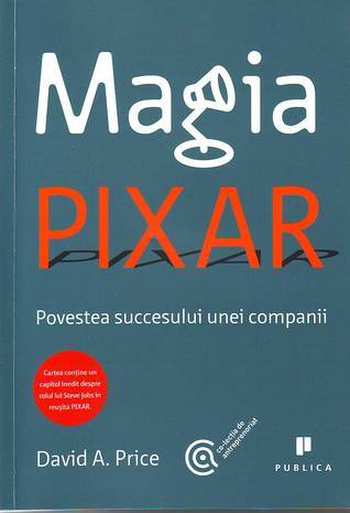 Magia Pixar David A. Price