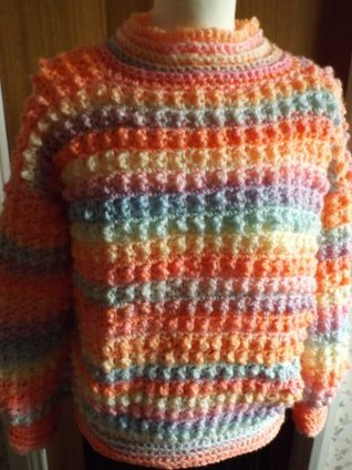 No 20 Chunky Bobble Jumper  by  Tracey Ann Shears