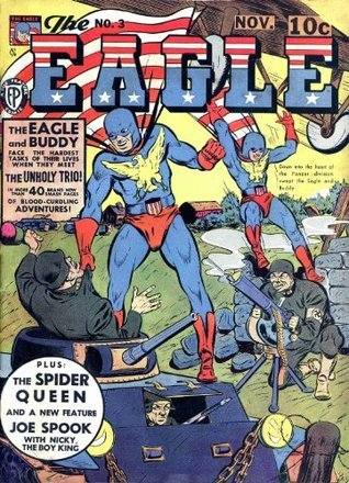 The Eagle 003  by  Classic Comics