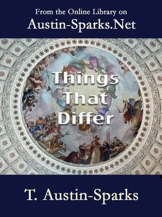 Things That Differ T. Austin-Sparks