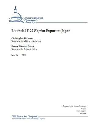 Potential F-22 Raptor Export to Japan  by  Emma Chanlett-avery