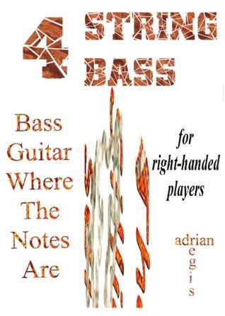 Bass Guitar Fret Fingering Guide For Right-handed Players  by  Adrian Regis