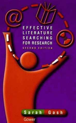 Effective Literature Searching for Research Sarah Gash