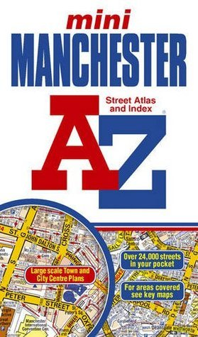 Manchester Mini Street Atlas  by  Geographers A-Z Map Company