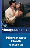 Mistress for a Month (Three Rich Men #1)