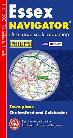 Philips Essex Navigator Road Map  by  Various