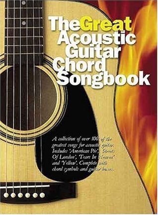 The Great Acoustic Guitar Chord Songbook  by  Nick Crispin