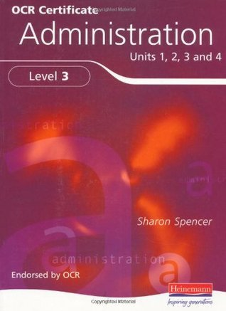 Certificate in Administration Level 3 Student Book  by  Sharon Spencer