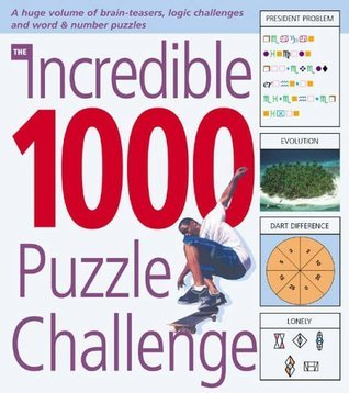 The Incredible 1000 Puzzle Challenge  by  Robert Allen